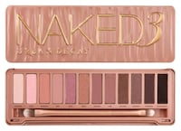 Urban Decay Naked 3 eyeshadow palette  Surrey, V3T 0K6