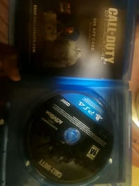 Fresh conditioned ps4 call of duty disc Oakland, 94605