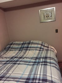 Queen size box spring and Mattress and frame Calgary, T2K 2A8