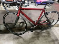 red and black road bike Queens, 11373