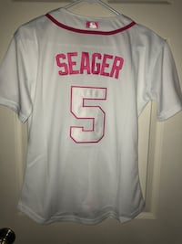 Women's Dodgers Corey Seager jersey (new, women's medium, stitched) firm on price Los Angeles, 90042