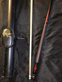 viper pool stick with hard case and glove Baltimore, 21222