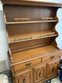 40s or 50s china cabinet hutch