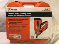 Brand new never used PasLode XP cordless framing nailer kit. Retails for $399 Vacaville, 95687