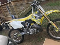 yellow and black Suzuki motocross dirt bike Irvington, 07111