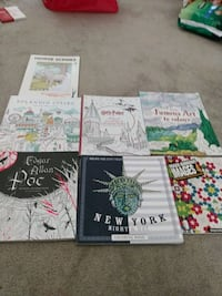 $15 each for the adult colouring books I will go 75% off