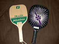 2 Pickle Ball Paddles or Rackets