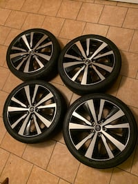 2020 Nissan Altima sport Rims and Tires