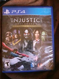 Injustice God's Among US Ultimate Edition ps4 Albuquerque, 87109