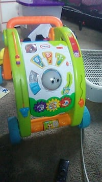 baby's green and blue activity walker Columbus, 43232