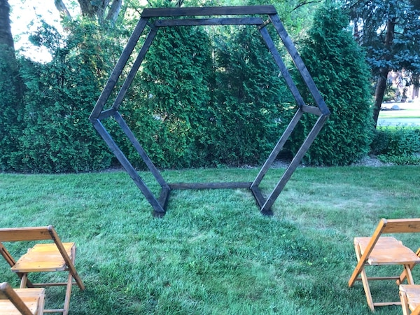 Hexagon Arch Rental