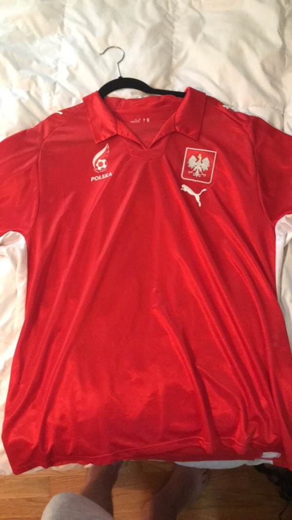 lowest price aed76 1f268 poland soccer jersey