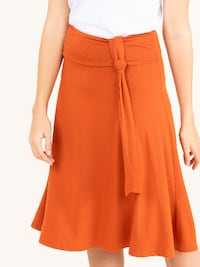 Side Sash Skirt Sienna