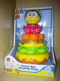 baby's multicolored Fisher-Price learning walker Toronto, M3A 1V2