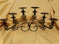 Six tier Fleur de lis cast iron candle holder Houma, 70364