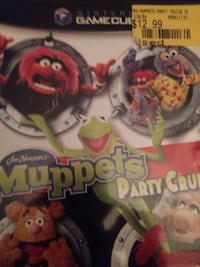 Vintage muppets game as is fun gamed played alot as is Toronto, M6G 3X3