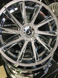 Chrome wheels in payments. 100$ to get started. Read description  San Diego, 92113