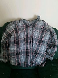 gray, black, and white plaid sports shirt Holyrood, A0A 2R0