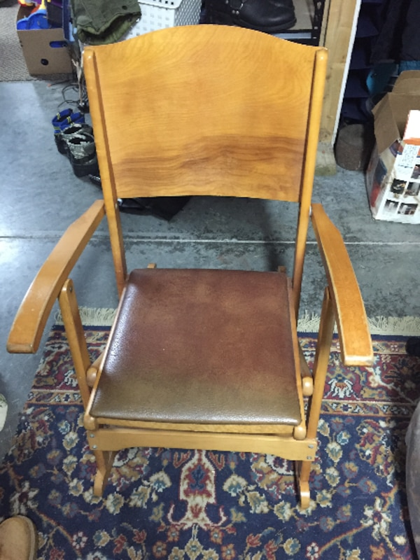 Clement folding rocking chair