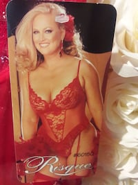 Women's red teddy lingerie  West Covina, 91790