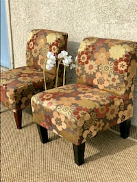 Floral Accents Chairs
