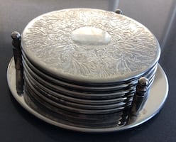 6 Cup Sliver plated