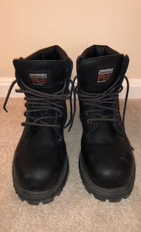 """10.5 MEN'S TIMBERLAND PRO® DIRECT ATTACH 6"""" STEEL TOE BOOTS"""