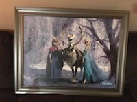 Beautiful large framed print •  mint condition • $50 Brampton, L6V