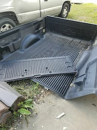 black pickup truck bed liner