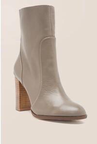 Chinese Laundry - Cool kid Leather Block Heel Boot Baltimore, 21218