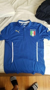 blue and white Puma Italia jersey SIZE: Adult M Fort Myers, 33901