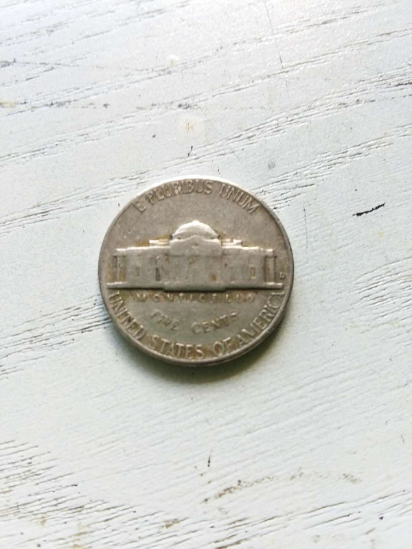 Used 1964 D Jefferson Nickel For Sale In Chico
