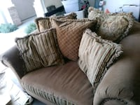 Brown Sofa and Chair Bakersfield, 93311