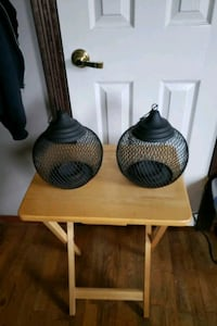 Antique candle holders  Mastic, 11950
