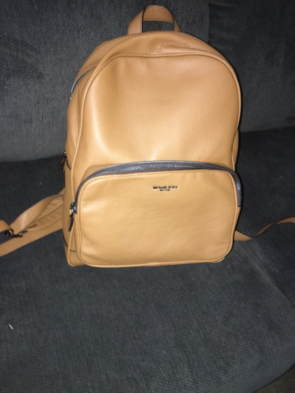 0529d470b6d5 Used brown leather Michael Kors backpack for sale in Dallas - letgo