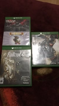 Fallout 4, Ryse, Gear of War Ultimate Edition Calgary, T3E 4N9