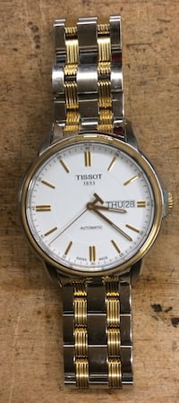 Tissot watch stainless silver and gold pre owned 823147-1  Baltimore, 21205