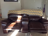 Recliner sofa and loveseat one or both neg price..reclines back into nap position.. Pikesville, 21208