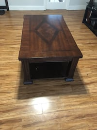 brown wooden 2-layer side table Surrey, V3S 8M7
