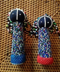 2 Old African Hand Beaded Dolls   Thousand Oaks, 91320