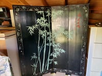 Double-sided Oriental Room Divider & Vase Stand Calvert County, 20629