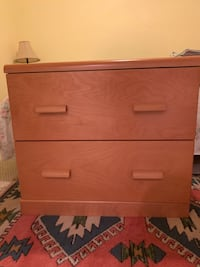 2 Office filing (wooden)cabinets (set of two) Lorton, 22079