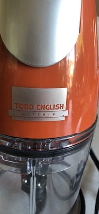 Portable food processor and food chopper by Todd English