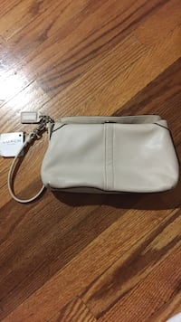 leather Coach wristlet Toronto, M6J