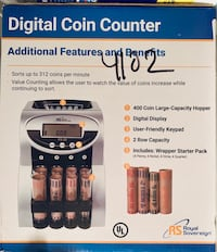 Coin Counting Machine, digital...