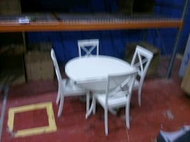 Dinette set   including  table and 4 chairs  ((wholesale to you))