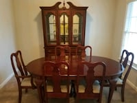 $300 Dining table AND lighted China cabinet Canton, 30114