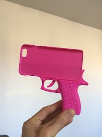Cover IPhone 6/6s (Gun Case Pink) Montreal