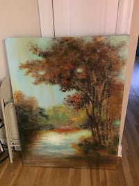 Canvas painting  Howell, 07731