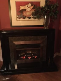 black and brown electric fireplace Scugog, L9L 2C7